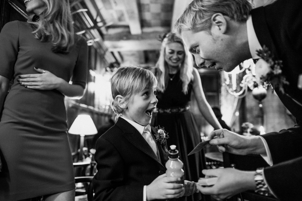 Leeds wedding magician